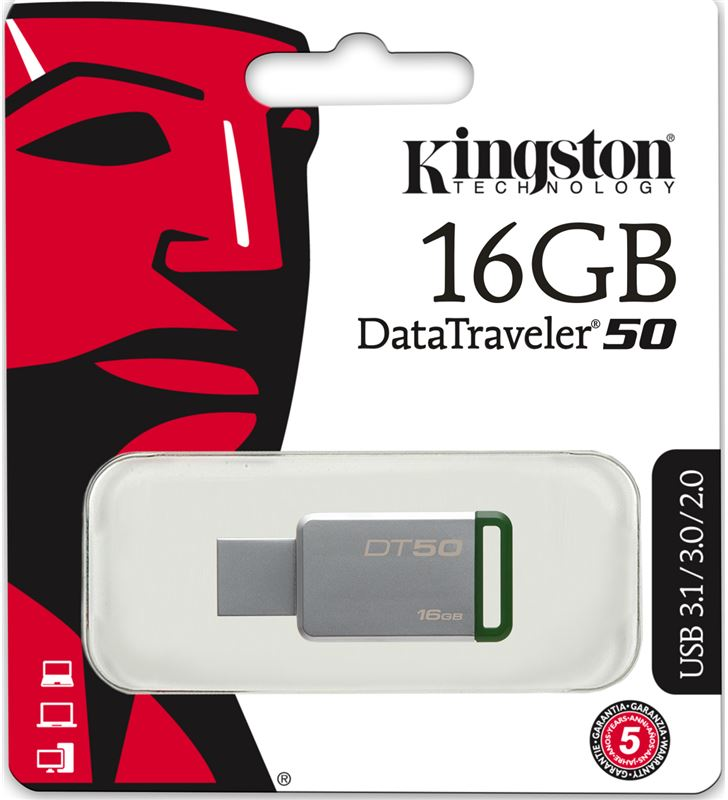 Kingston usb 16gb memoria datatraveler 101 g2 - 16 DT101G216GB - 32979896_8287624025