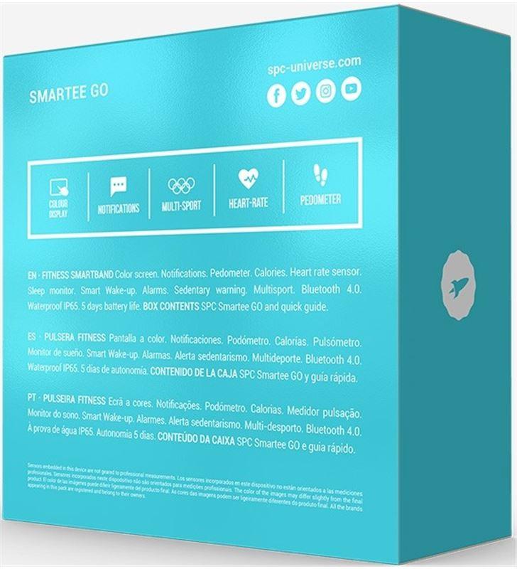 Spc 9627N pulsera deportiva smartee go pulsómetro Relojes deportivos inteligentes smartwatch - 69597826_9279813256