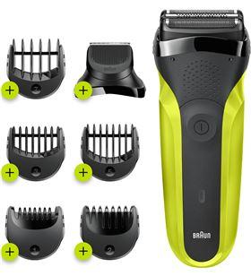 Braun 300BT afeitadora eléctrica series 3 shave & style 3 en 1 - +015319