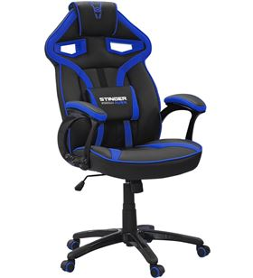 Silla gamer Woxter stinger station alíen blue v2.0 - piston clase 4 - eje d GM26-054 - WOX-SILLA GM26-054