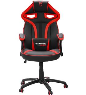 Silla gamer Woxter stinger station alíen red v2.0 - piston clase 4 - eje de GM26-055 - WOX-SILLA GM26-055