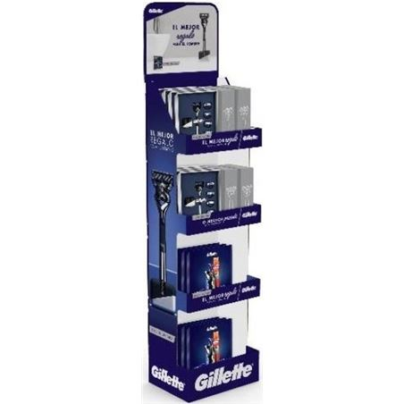 Braun DISPLAYGILLETTE afeitador barbero afeitadoras - 7702018544516