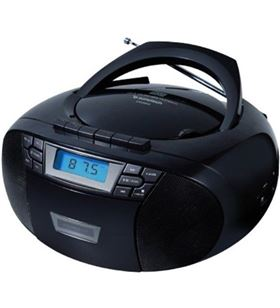 Radio cd Sunstech CXUM53BK usb mp3 negra Minicadenas microcadenas - 8429015018954