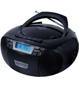 Radio cd Sunstech CXUM53BK usb mp3 negra Minicadenas microcadenas - 8429015018954