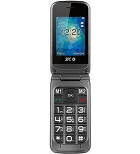 Teléfono móvil libre Spc stella - pantalla 2.4''/6.1cm - teclas grandes - du 2317T - SPC-TEL 2317T