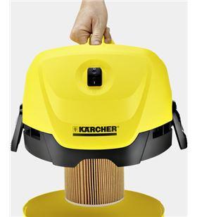 Aspirador seco y húmedo Karcher wd3 ii 200 w 17 litros 1629821 - KAR1629821