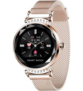 Reloj inteligente Innjoo lady crystal gold - registro distancia - ritmo car LADYC GOLD - 6928978216862