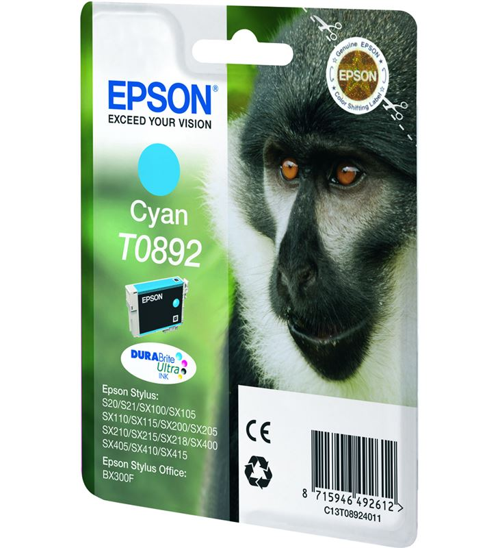 Cartucho tinta Epson C13T08924011 cian Fax digital cartuchos - 9476666_6371388234