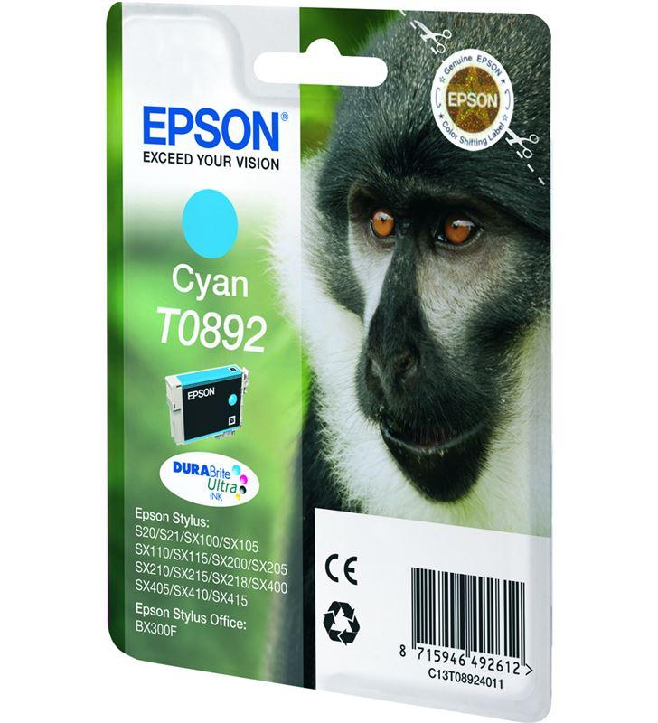 Cartucho tinta Epson C13T08924011 cian Fax digital y cartuchos de tinta - 9476666_6371388234