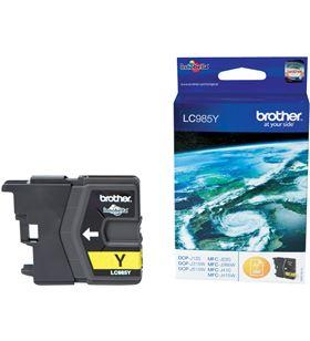 Cartucho tinta Brother lc-985 260 páginas amarillo LC985Y - BRO-LC985Y