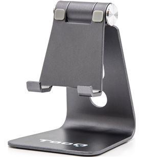Sihogar.com soporte para smartphone móvil / tablet tooq ph0001-g gris - almohadillas d - TOO-SOP PH0001-G
