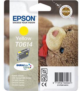 Cartucho tinta amarillo pigmentado Epson t0614 - 250 paginas - osito de pel C13T06144010 - EPS-C13T06144010