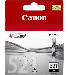 Cartucho de tinta negra fotográfico Canon cli-521bk - compatible segun espe 2933B001 - BCC-CLI-521BK