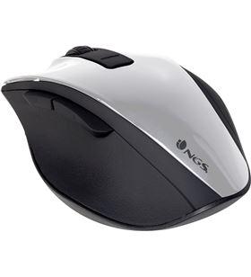 Ngs BOWWHITE ratón inalámbrico bow white - 2.4ghz - 800/1600dpi - 5 botones - scroll - NGS-MOU BOWWHITE