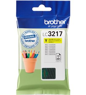 Cartucho de tinta amarillo Brother LC3217Y - aprox. 550 páginas - compatibl - 33499354_0379330201