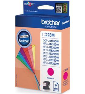Cartucho de tinta magenta Brother LC223MBP - aprox. 550 páginas - compatibl - BRO-C-LC223MBP