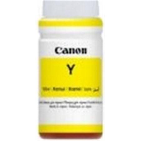 Botella tinta amarilla Canon gi-590 - 70ml - compatible según especificacio 1606C001AA - CAN-BOT GI-590 Y