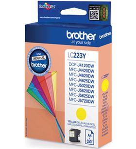 Cartucho de tinta amarillo Brother LC223YBP - aprox. 550 páginas - compatib - BRO-C-LC223YBP