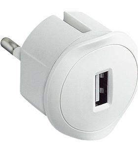 Sihogar.com adaptador cargador usb legrand 050680 - blanco - LEG-USB 050680E