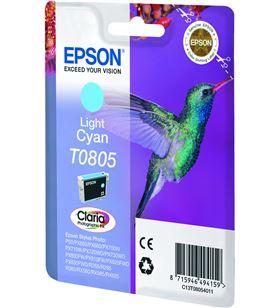 Cartucho cian claro Epson t0805 - colibri C13T08054011 - EPS-C13T08054011