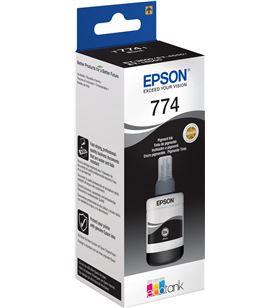 Botella tinta negra Epson t7741 - 140ml - compatible con ecotank et-4550 C13T774140 - EPS-C13T774140