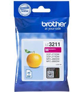 Cartucho de tinta magenta Brother LC3211M - 200 páginas - compatible según - BRO-C-LC3211M