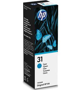 Botella de tinta cian Hp nº31 - contenido 70ml - 8000 páginas - compatibili 1VU26AE - 1VU26AE