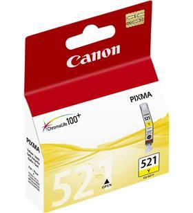 Cartucho de tinta amarillo Canon cli-521y - compatible segun especificacion 2936B001 - BCC-CLI-521Y