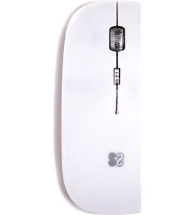 Sihogar.com subblim mouse flat blanco ratón inalámbrico bluetooth flat 20mm de grosor c mouse flat whit - +21343