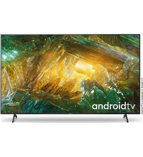 Lcd led 85 Sony KD85XH8096 4k hdr x-reality pro processor x1, android tv - KD85XH8096