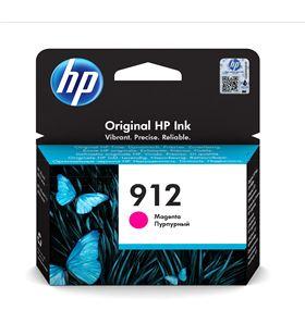 Cartucho de tinta magenta Hp nº912 - 315 páginas aprox - compatible según e 3YL78AE - 3YL78AE