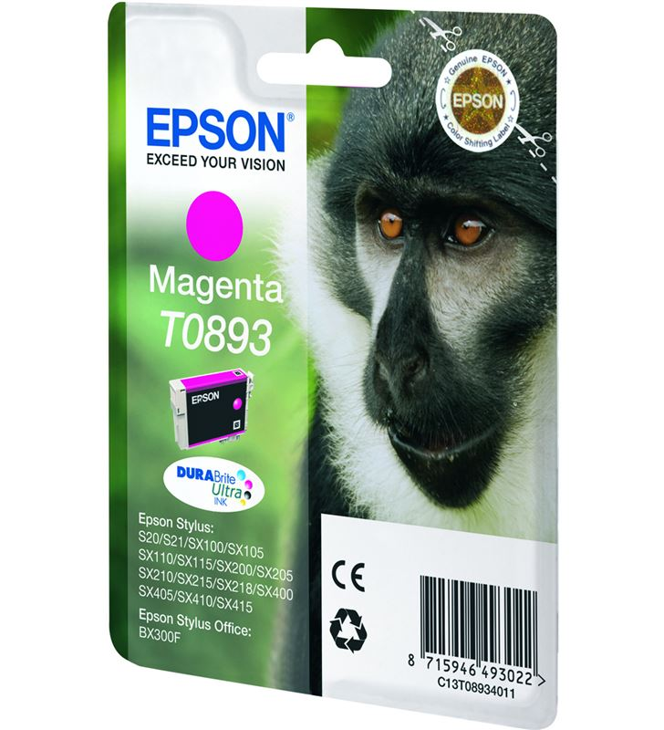 Epson C13T08934011 cartucho tinta magenta Fax digital cartuchos - 3526167_9377404452