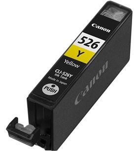 Cartucho de tinta amarillo Canon cli-526y - compatible segun especificacion 4543B001 - CAN-CLI-526Y