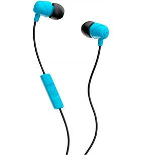SkullCandy JIB BLUE BLACK auriculares de botón in-ear con cable y micrófono - 0878615091399