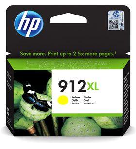 Cartucho de tinta amarillo Hp nº912xl - 825 páginas - compatible según espe 3YL83AE - 3YL83AE