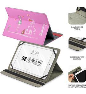 Sihogar.com funda universal subblim trendy fashion girls para tablet hasta 10.1''/25.6cm sub-cut-4tc004 - 78800086_7882023267