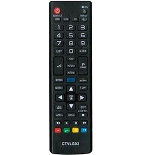 Lg mando a distancia ctvLg03 compatible con tv - no precisa programación 02ACCOEMCTVLG03 - 8436034266136