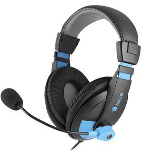 Auriculares diadema Ngs msx9 pro blue - estéreo - micrófono cancelación rui MSX9PROBLUE - NGS-AUR MSX9PRO BLUE