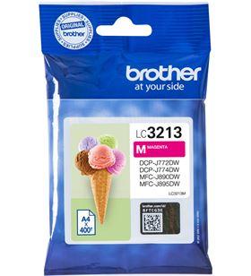 Cartucho de tinta magenta Brother LC3213M - hasta 400pag - compatible según - BRO-C-LC3213M