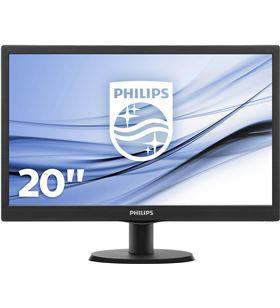 Philips monitor tv led 203v5lsb26 19.5''/49.5cm 16:9 5ms 200cd/m2 negro 203V5LSB26/10 - PHIL-M 203V5LSB26