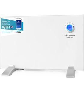 Orbegozo emisor termico panel radiante REW1000 1000w wifi apto baño blanco - ORBREW1000