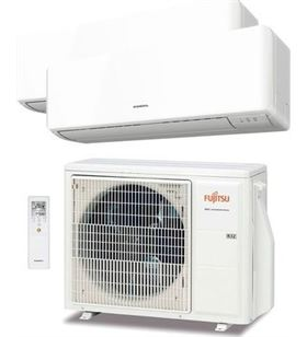 Fujitsu ASY25U2MIKM aire acondicionado split multi 2x1 ue50 r32 - 8432884580668