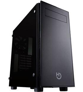 Hiditec caja semitorre ng-vx - usb3.0 - 2*usb - auricular - micrófono - adm CHA010016 - HID-CAJA NG-VX