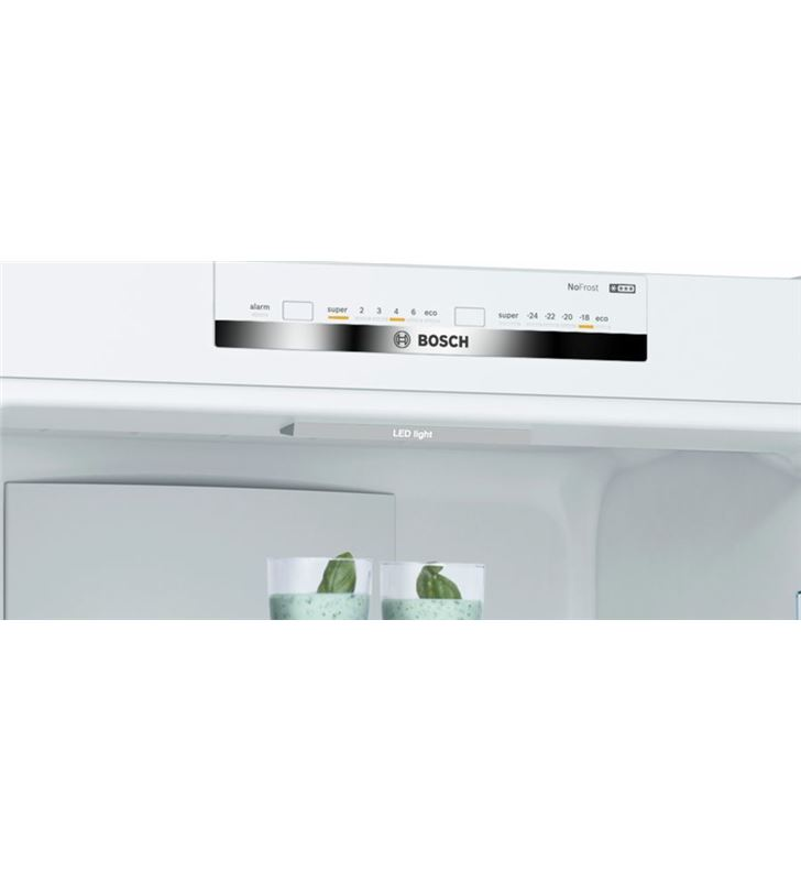 Bosch KGN39VWEA frigorífico combi clase e 203x60 cm no frost blanco - 78654080_1798092887