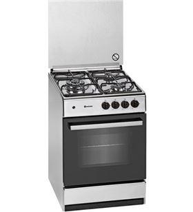 Meireles cocina gas G540X 3 zonas acero inoxidable gas butano - 5604409146847