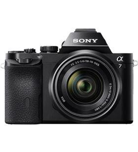 Sony ilce7k alpha 7 cámara réflex 24.3mp + objetivo sel2870 ILCE7KB - 4905524958645-0