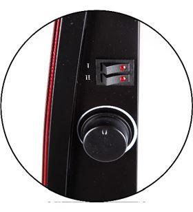 Radiador Jata vitrotherm VT150 - 2* potencias calor (750-1500w) - calor fro - JAT-PAE-RAD VT150