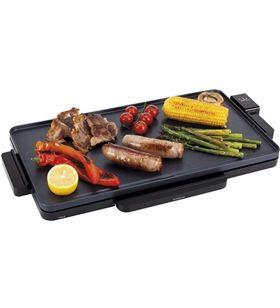 Plancha para asar Jata GR213 - 2000w - 490*270mm superficie - termostato re - 8421078034438