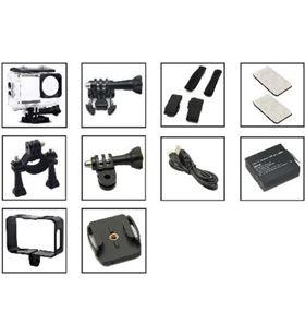 Sunstech -CAM ADRENALINE4K cámara deportiva adrenaline4k - full hd-4k/30fps - lente gran angu adrenaline4kgy - SUN-CAM ADRENALIN