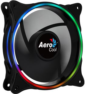 Aerocool ventilador box eclipse 12 - 12cm - anillo led rgb dual slim ECLIPSE12 - AER-REF ECLIPSE12